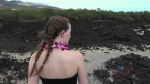 Danni makes it to Hawaii, and the nude beach.
